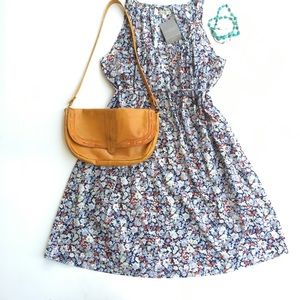 Anthropologie Porridge Garden Tea Dress